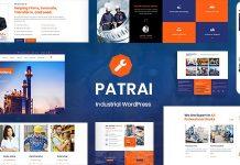 Patrai Industry v1.4 - Industrial WordPress Theme