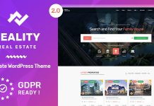 Reality v2.5.2 - Real Estate WordPress Theme