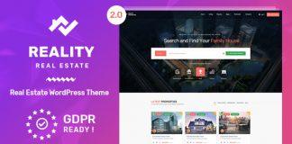 Reality v2.5.2 - Real Estate WordPress Theme