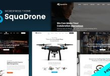 SquaDrone v1.1.0 - Drone & UAV Business WordPress Theme