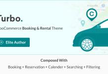 Turbo v6.0.7 - WooCommerce Rental & Booking Theme