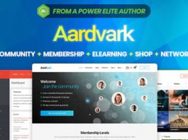 Aardvark v4.19 - BuddyPress, Membership & Community Theme