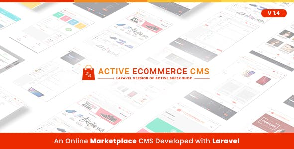 Active eCommerce CMS v2.1 Nulled