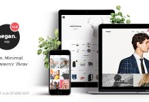 Negan v1.3.6 - Clean, Minimal WooCommerce Theme