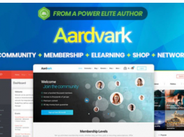 Aardvark v4.20 - BuddyPress, Membership & Community Theme