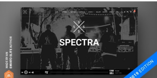 Spectra - Continuous Music Playback WordPress Theme v2.5.3