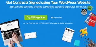 WP E-Signature - Get Contracts Signed using Your WordPress Website v1.5.5.5 Nulled + Addons