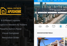 ApusHome v1.7.9 - Real Estate WordPress Theme 1.7.9