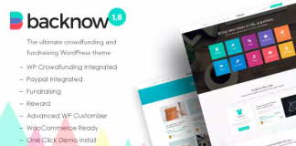 Backnow v2.4 - Crowdfunding & Fundraising Theme for Charity, Nonprofit, NGO, Donation
