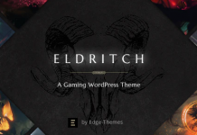 Eldritch v1.5 - Epic Theme for Gaming and eSports