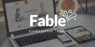 Fable v3.4 - Children Kindergarten WordPress Theme 3.4