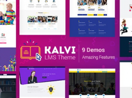 Kalvi v2.4 - LMS Education WordPress Theme