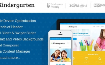 Kindergarten v3.8 | Day Care & Children School Education WordPress Theme