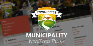 TownPress v3.3.3 - Municipality WordPress Theme