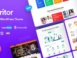Turitor v1.1.2 - LMS & Education WordPress Theme