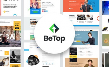 BeTop v1.0.8 - Coaching & Speaker WordPress Theme