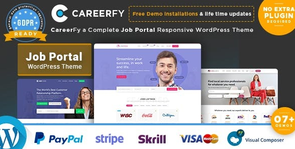 Careerfy v4.3.0 - Job Board WordPress Theme