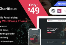 Charitious v2.4.3 - NonProfit Fundraising Charity WordPress Theme