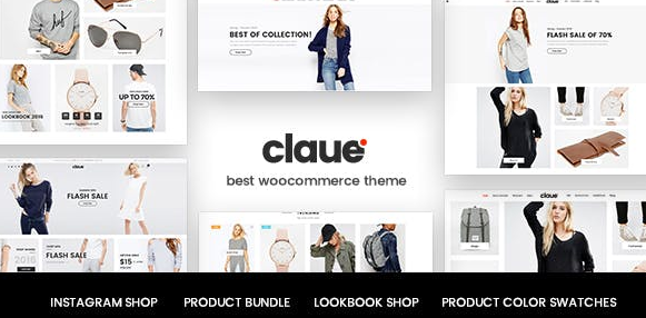 Claue v2.0.4 - Clean, Minimal WooCommerce Themes