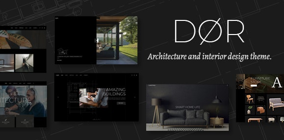 Dør v2.0 - Modern Architecture and Interior Design Theme