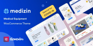Medizin v1.0.7 - Medical Elementor WooCommerce Theme Nulled