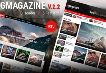 Mogtemplates - MogMagazine Template For Blogger v2.2