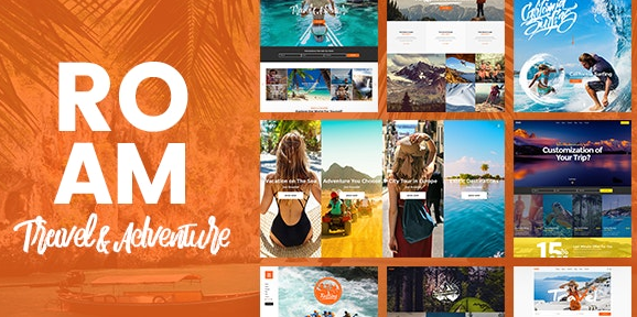 Roam v1.7.1 - Travel & Tourism WordPress Theme Nulled