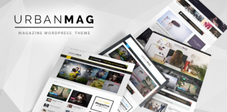 Urban Mag v1.22 - News & Magazine WordPress Theme