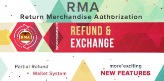 WooCommerce Refund And Exchange With RMA v3.1.0