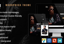 Barber v1.2.5 - Hair, Tattoo & Beauty Salons WordPress Theme