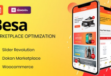 Besa v1.1.1 - Elementor Marketplace WooCommerce Theme