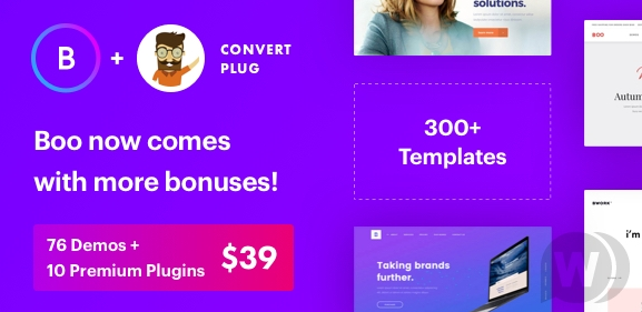 Boo - Multipurpose WordPress Theme v3.8.0