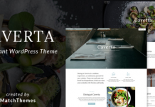 Caverta v1.4.1 - Fine Dining Restaurant WordPress Theme