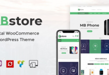 MBStore v1.7 - Digital WooCommerce WordPress Theme