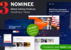Nominee v3.3.0 - Political WordPress Theme for Candidate/Political Leader
