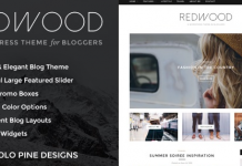 Redwood v1.7.2 - A Responsive WordPress Blog Theme