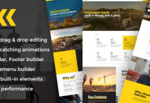 Samatex v2.2 - Industrial WordPress Theme + Woocommerce