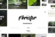 The Forester v1.4.2 - Elementor Portfolio Theme