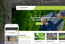 The Landscaper v2.0 - Lawn & Landscaping WP Theme