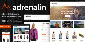 Adrenalin v2.0.8 - Multi-Purpose WooCommerce Theme