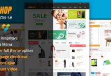 Alo Shop v4.4 - Mega Market RTL Responsive WooCommerce WordPress Theme