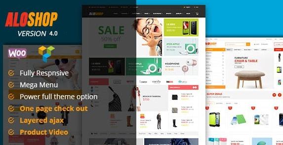 Alo Shop v4.2 - Mega Market RTL Responsive WooCommerce WordPress Theme