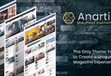Anartisis v1.7.2 - News & Magazine Blogger Theme
