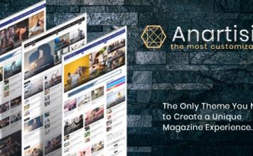 Anartisis v1.7.2 - News & Magazine Blogger Theme