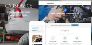 Car Service v5.9 - Mechanic Auto Shop WordPress Theme
