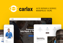 Carlax v1.0.3 | Car Parts Store & Auto Service WordPress Theme
