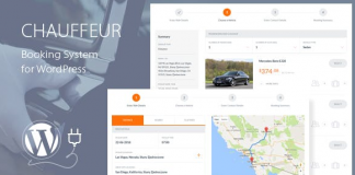 Chauffeur Booking System for WordPress v5.3
