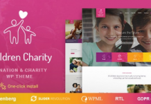 Children Charity v1.1.1 - Nonprofit & NGO WordPress Theme with Donations