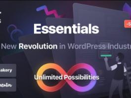Essentials v1.0.3 Multipurpose WordPress Theme Nulled