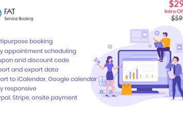 Fat Services Booking v2.11 - Automated Booking and Online Scheduling